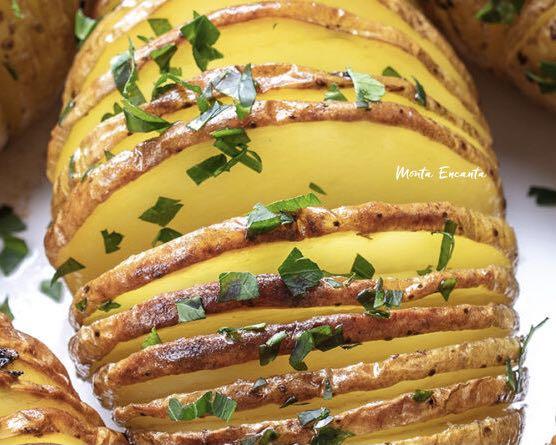batata hasselback