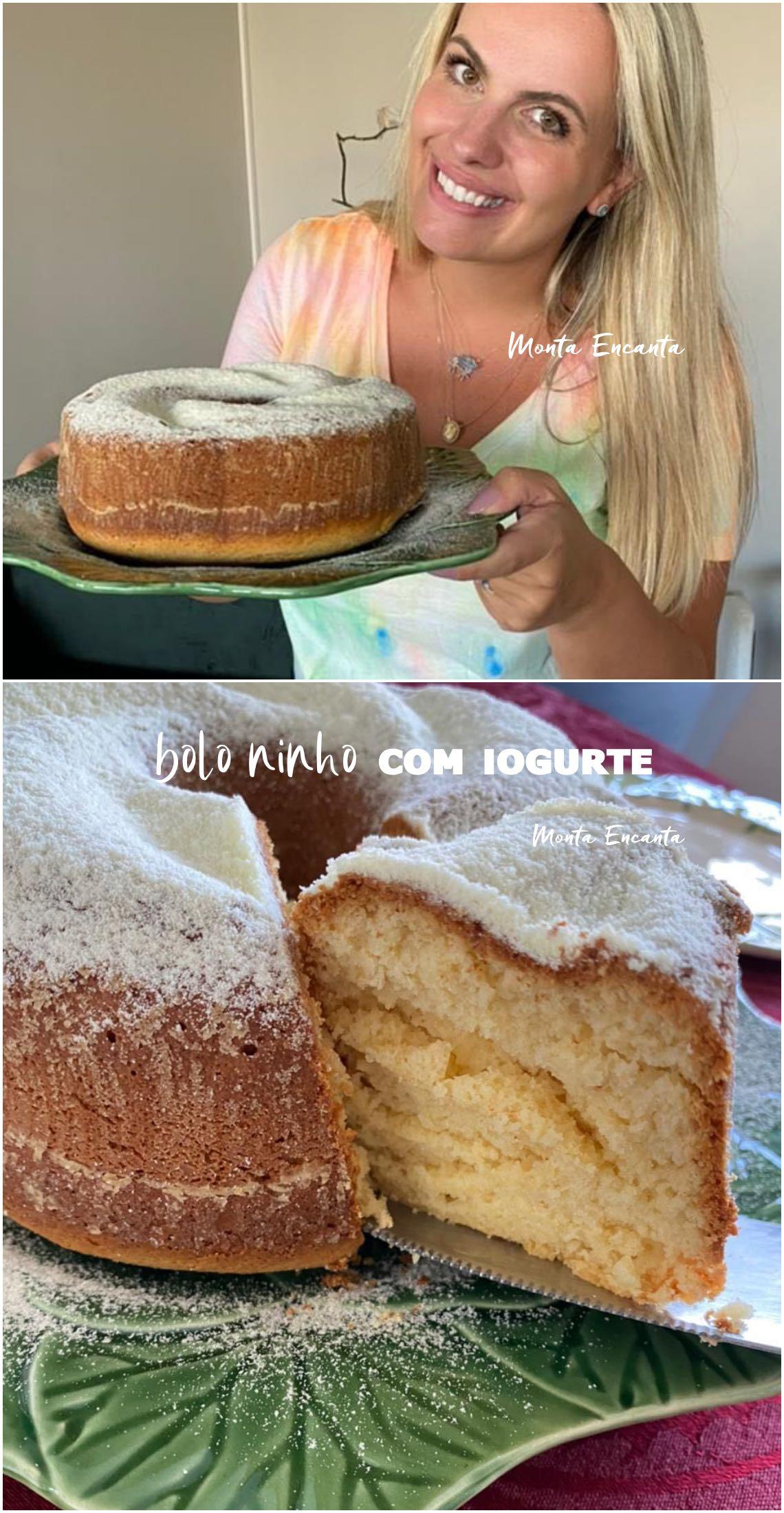 bolo ninho com iogurte